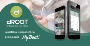 Ești utilizator dROOT, solicită GRATUIT aplicația pacienților MyDent
