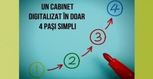 Un cabinet digitalizat în doar 4 pași simpli