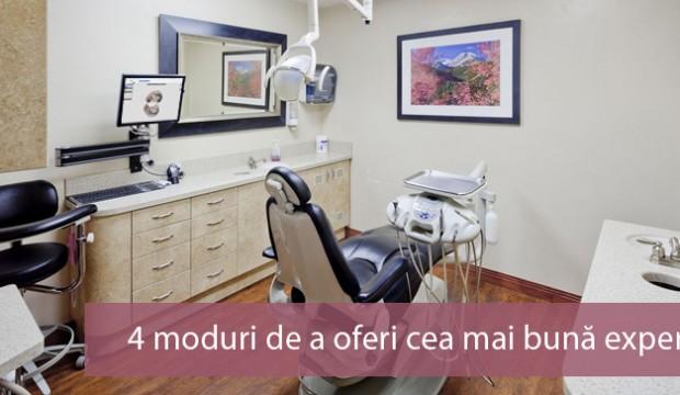 4 moduri de a oferi cea mai bună experienţă pacienţilor